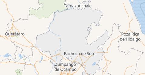 Mapa de Hidalgo