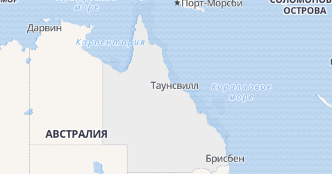 Квинсленд - карта
