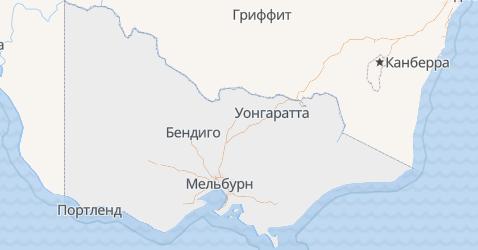Виктория - карта