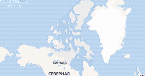 Нунавут - карта