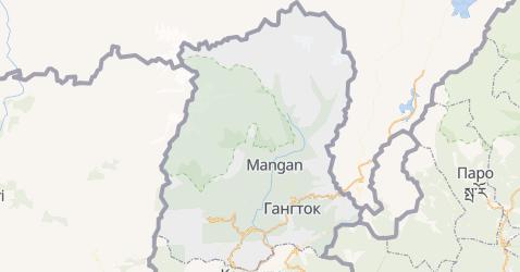 Сикким - карта