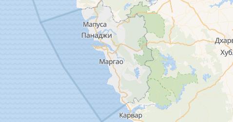 Гоа - карта