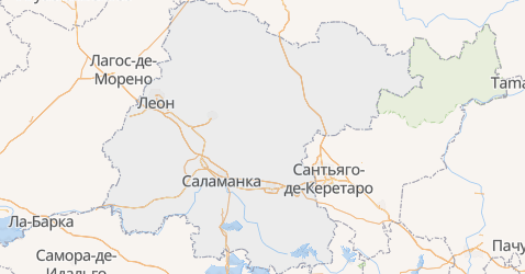 Гуанахуато - карта