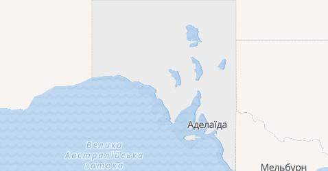 Південна Австралія - мапа
