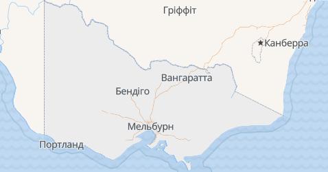 Вікторія - мапа