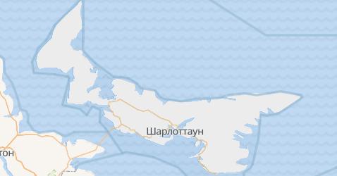 Острів Принца Едварда - мапа