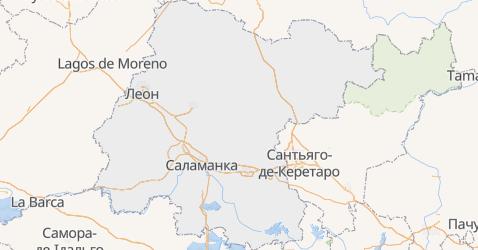 Ґуанахуато - мапа