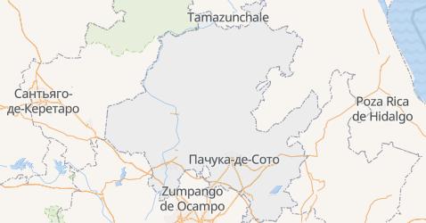 Ідальго - мапа
