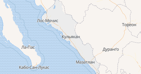 Сіналоа - мапа