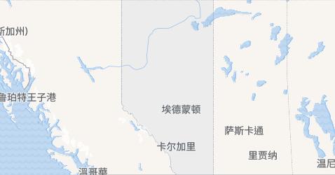 艾伯塔地图