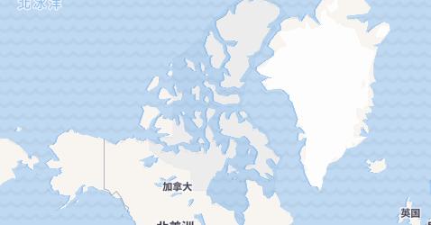 努納武特地图