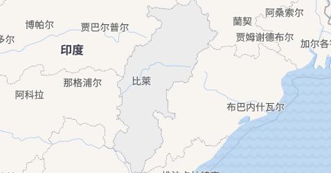 恰蒂斯加尔邦地图