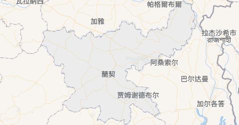 贾坎德邦地图