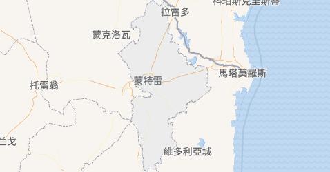 新萊昂州地图