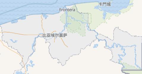 塔巴斯科州地图
