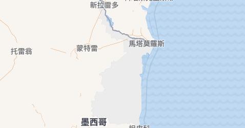 塔毛利帕斯州地图
