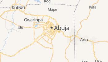 Online-Karte von Abuja