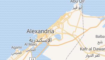 Online-Karte von Alexandria
