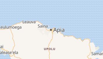 Online-Karte von Apia