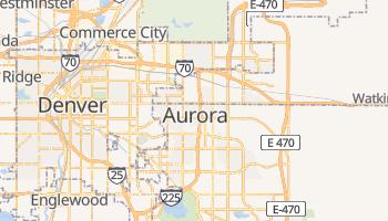 Online-Karte von Aurora