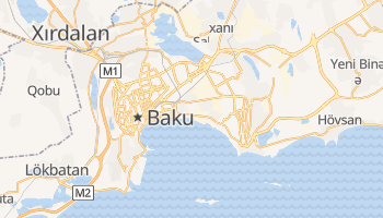 Online-Karte von Baku