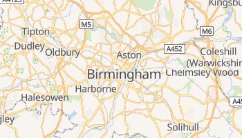 Online-Karte von Birmingham (UK)