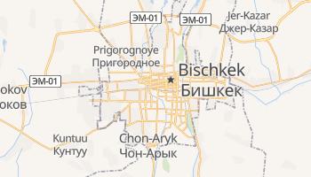 Online-Karte von Bischkek