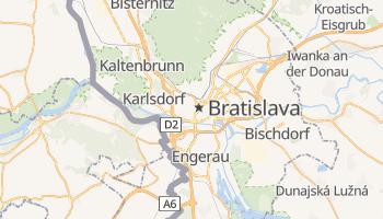 Online-Karte von Bratislava