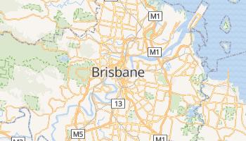 Online-Karte von Brisbane