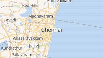 Online-Karte von Chennai