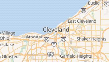 Online-Karte von Cleveland