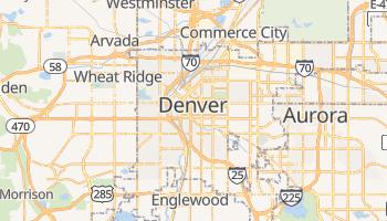 Online-Karte von Denver