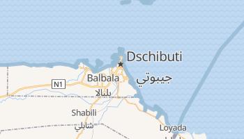 Online-Karte von Dschibuti