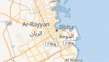 Online-Karte von Doha