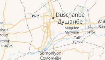 Online-Karte von Duschanbe