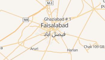 Online-Karte von Faisalabad