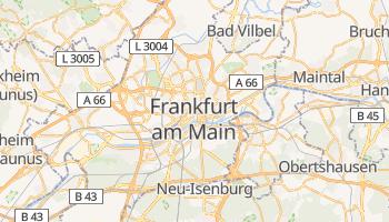 Online-Karte von Frankfurt am Main