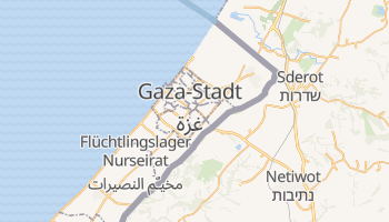 Online-Karte von Gaza