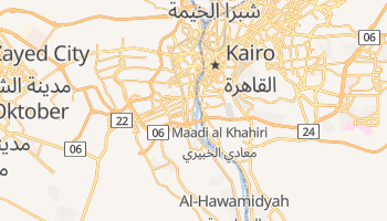 Online-Karte von Gizeh