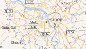 Online-Karte von Hanoi