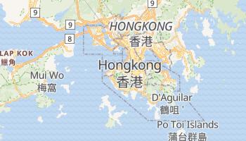 Online-Karte von Hongkong
