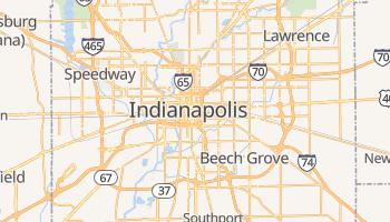 Online-Karte von Indianapolis