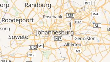Online-Karte von Johannesburg