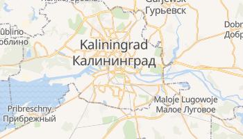 Online-Karte von Kaliningrad