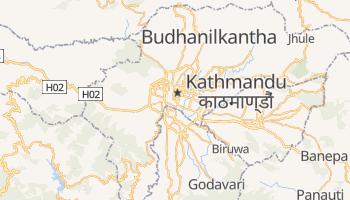 Online-Karte von Kathmandu