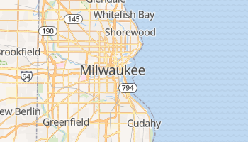 Online-Karte von Milwaukee