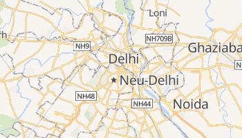 Online-Karte von Neu-Delhi