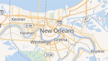 Online-Karte von New Orleans