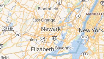 Online-Karte von Newark