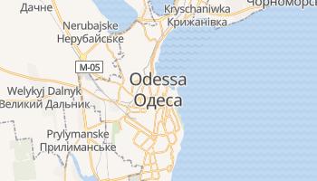Online-Karte von Odessa